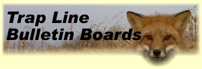 Trap Line Bulletin Board